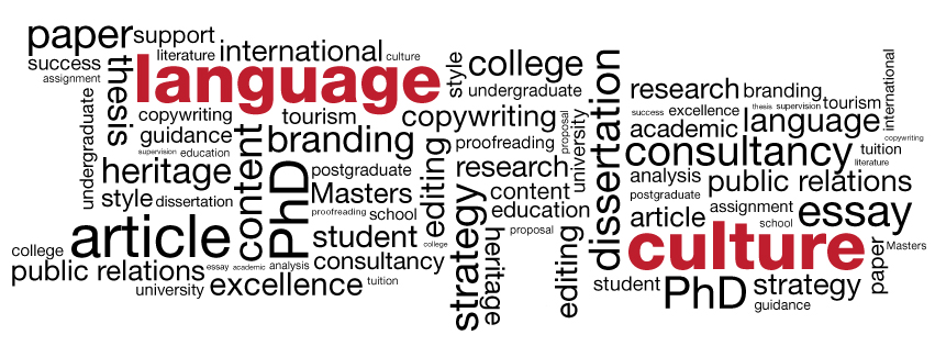 our services language and culture academic and business proofreading